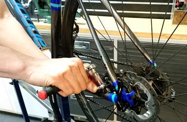 自転車の調整永年無料